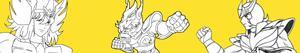 Colorear Saint Seiya - Los caballeros del Zodiaco