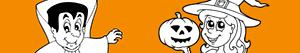 Colorear Fiesta de Halloween