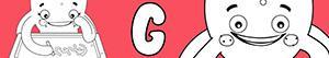 Colorear Nombres de Niña con G