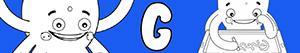 Colorear Nombres de Niño con G