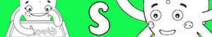 Colorear Nombres de Niña con S